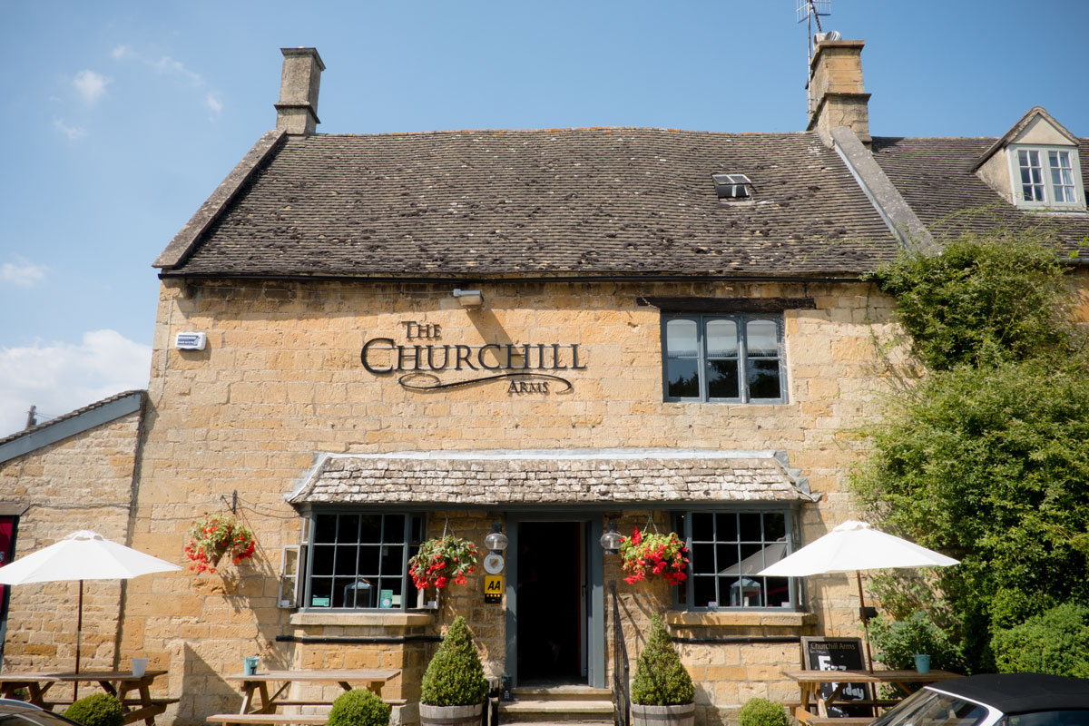 A Fantastic Lunch at the Churchill Arms 1