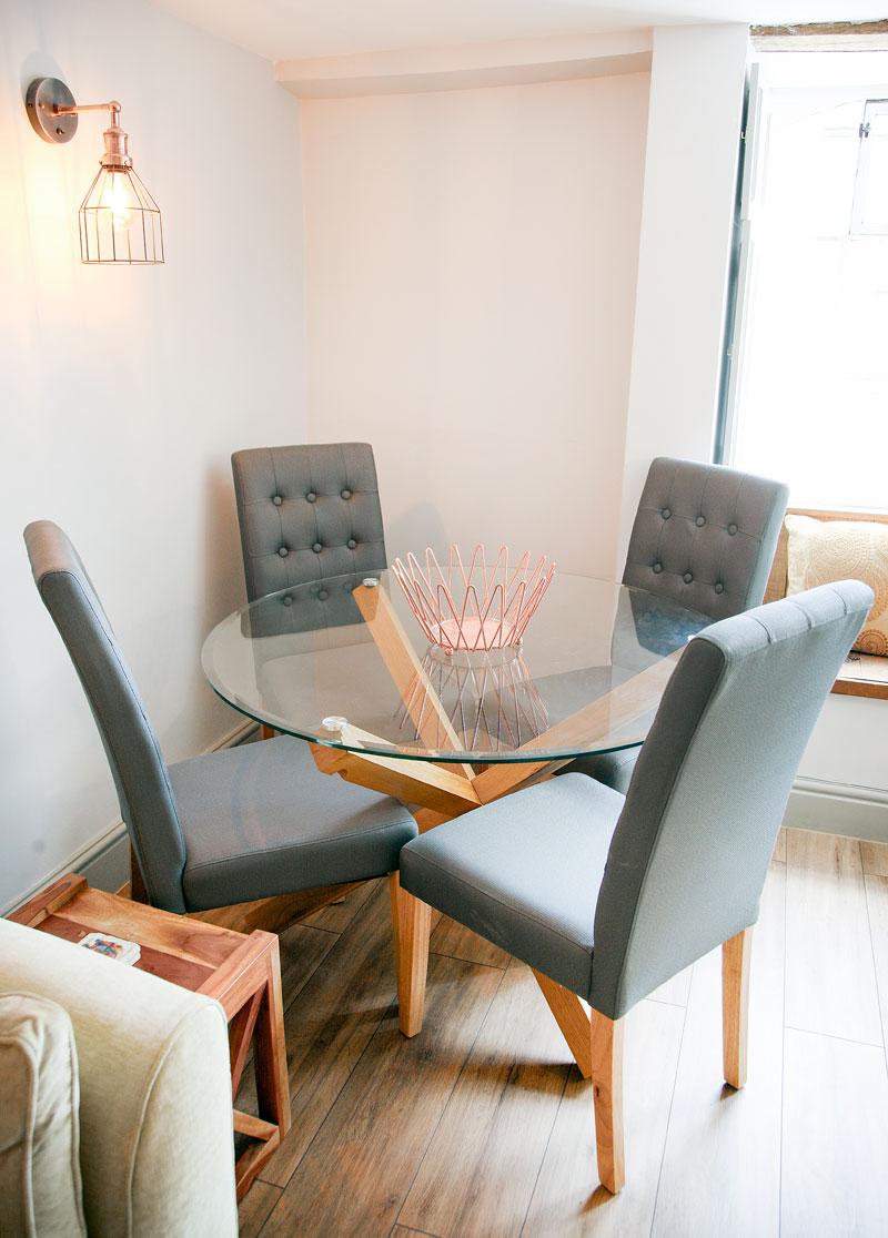 Dining-Fairholme-Northleach-luxury-self-catering